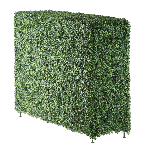Boxwood hedge png. Faux inches wide
