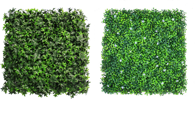 Boxwood hedge shrubs artificial png. Hedges mats faux ivy