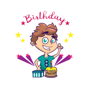 Boy birthday png. Images vectors and psd
