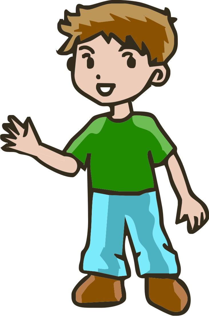 Boy clipart. Older