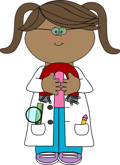 Boy clipart scientist. Kid with a magnet