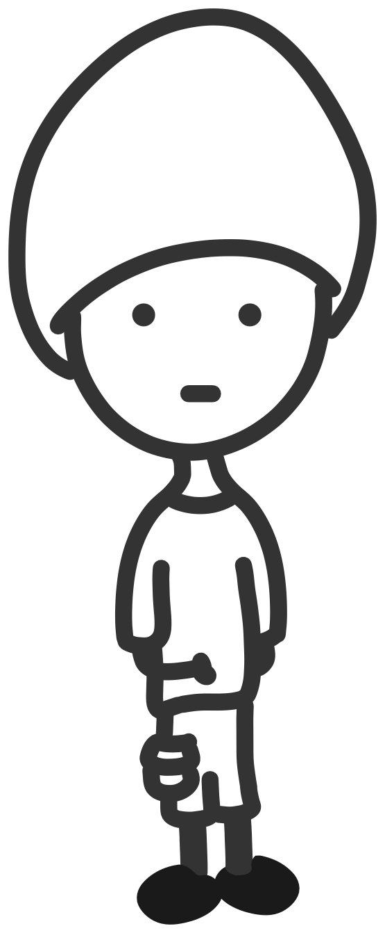 Boy line drawing at. Chin clipart black and white image library library