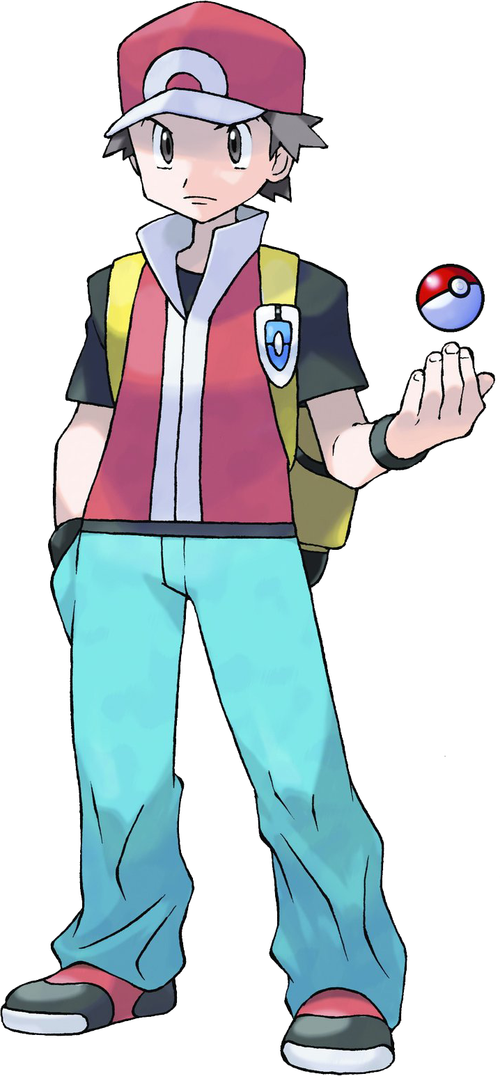 red pokemon png