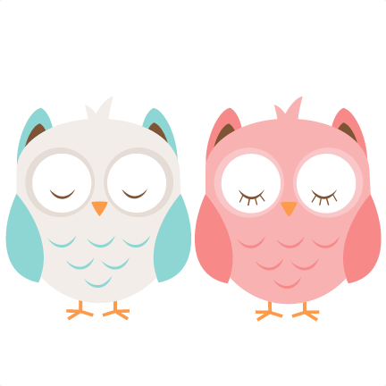 Girl owl png. Boy svg cutting file