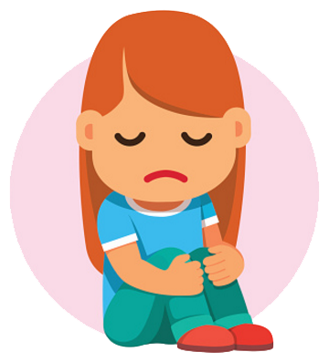 Sad cartoon png. Collection of child