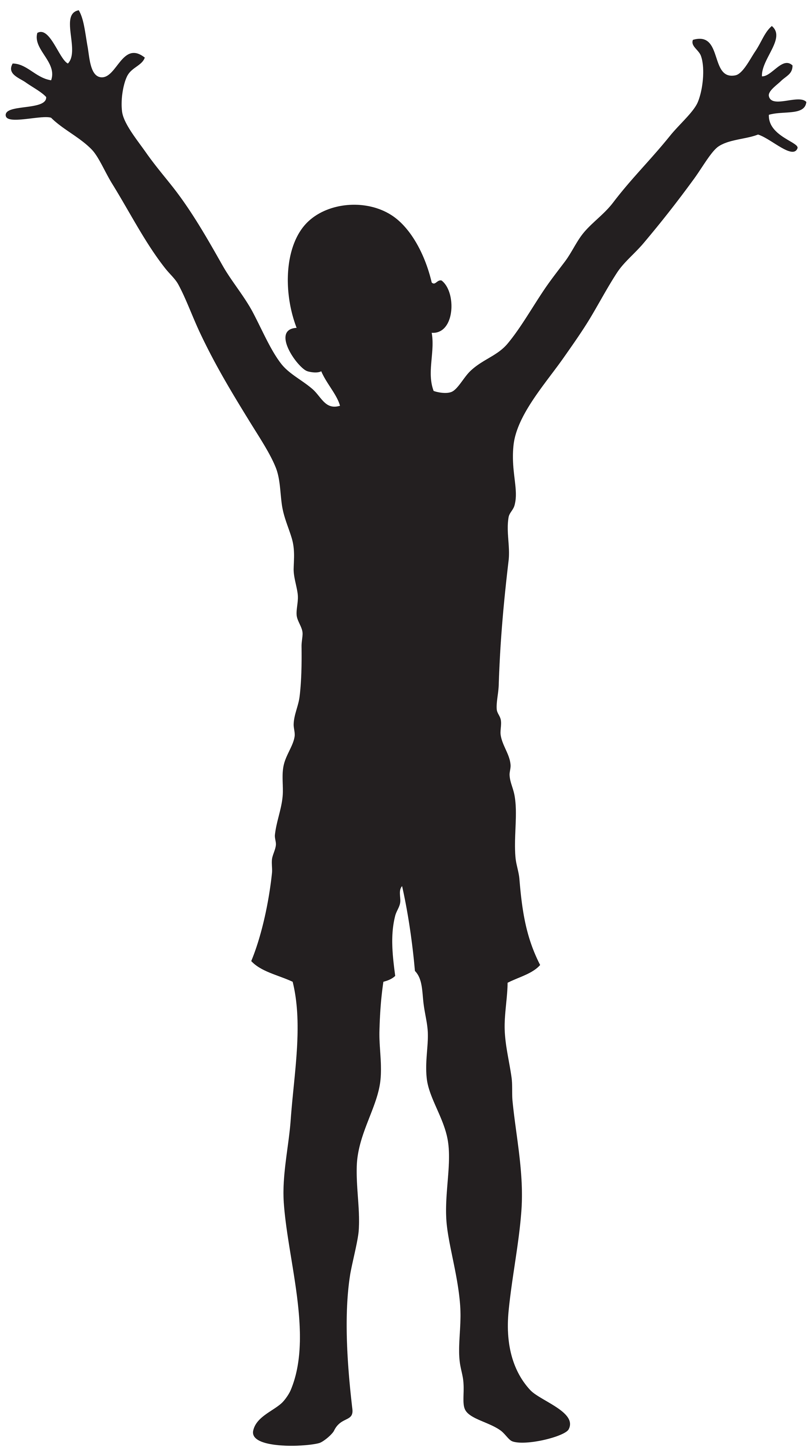 Boy silhouette png. Clip art image gallery
