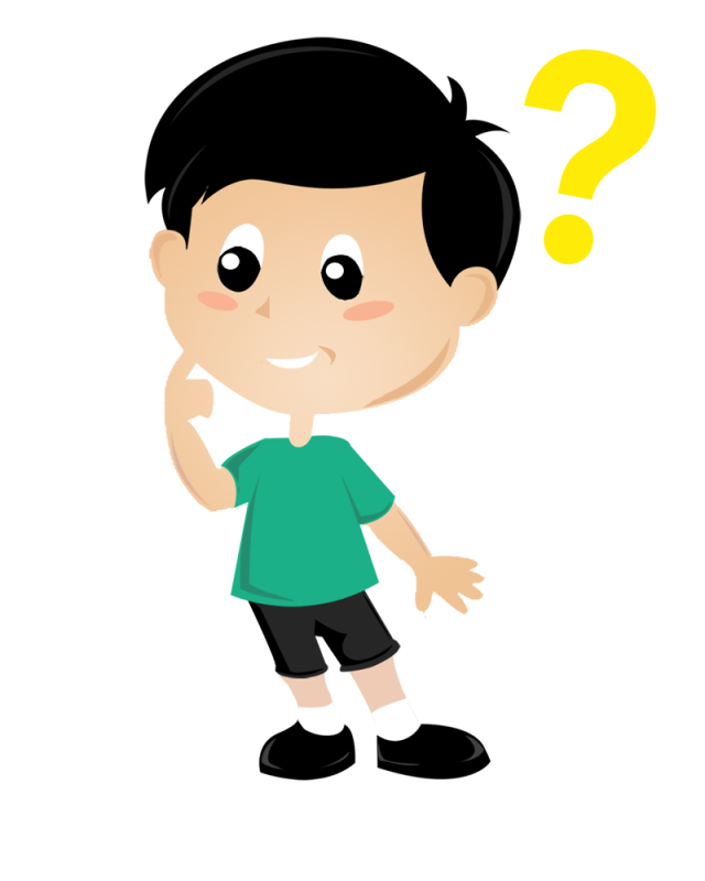 Boy thinking png. Child thought clip art