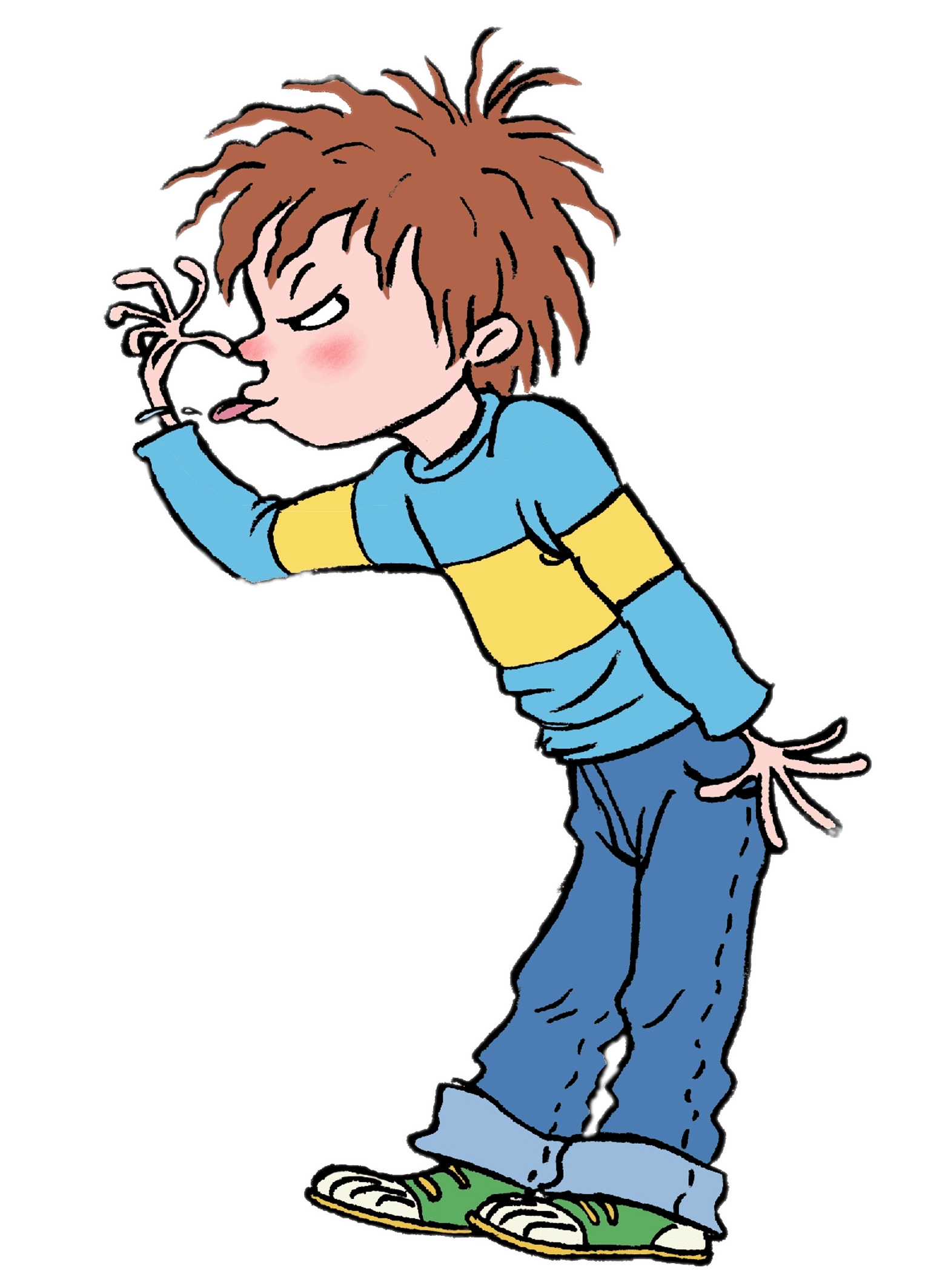 Person tongue sticking out png. Horrid henry transparent stickpng