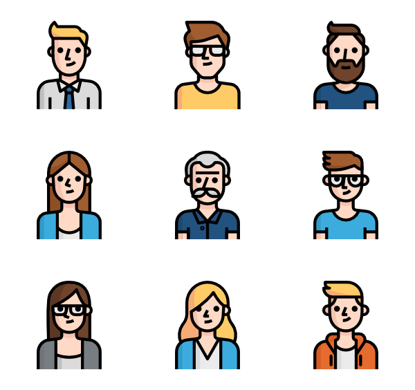 Customer vector default user. Boy icons free avatar