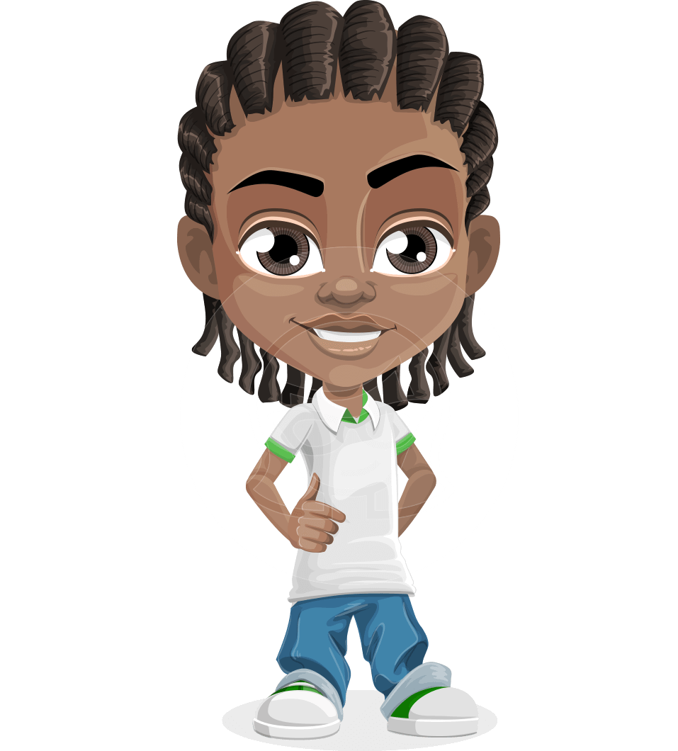 Boy vector png. Mason the cool cartoon