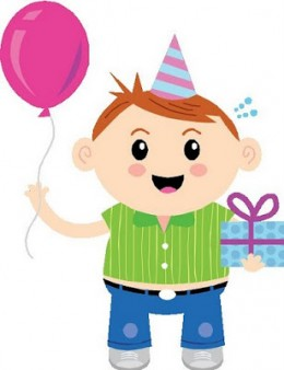 Boys clipart happy birthday. Boy