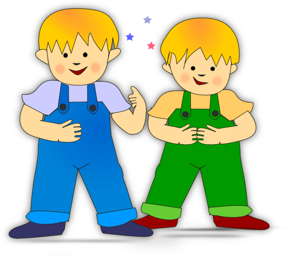 Boys clipart. Playing kids clip art
