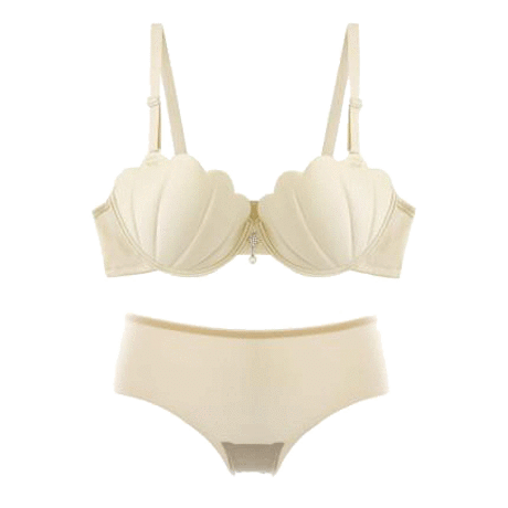 Bra transparent pushup