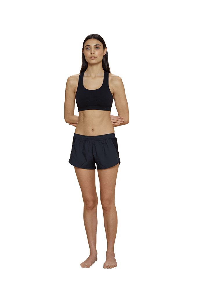 Bra transparent training. Shorts thinx