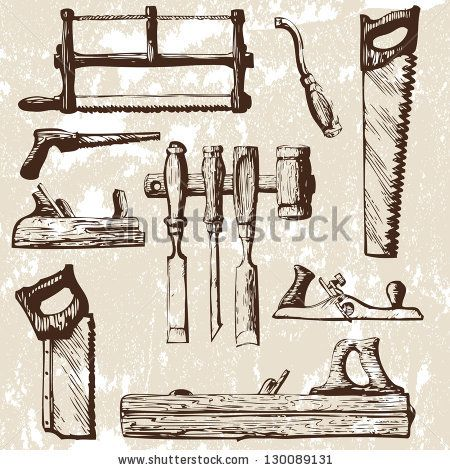 Braces clipart joinery tool. Best vintage tools