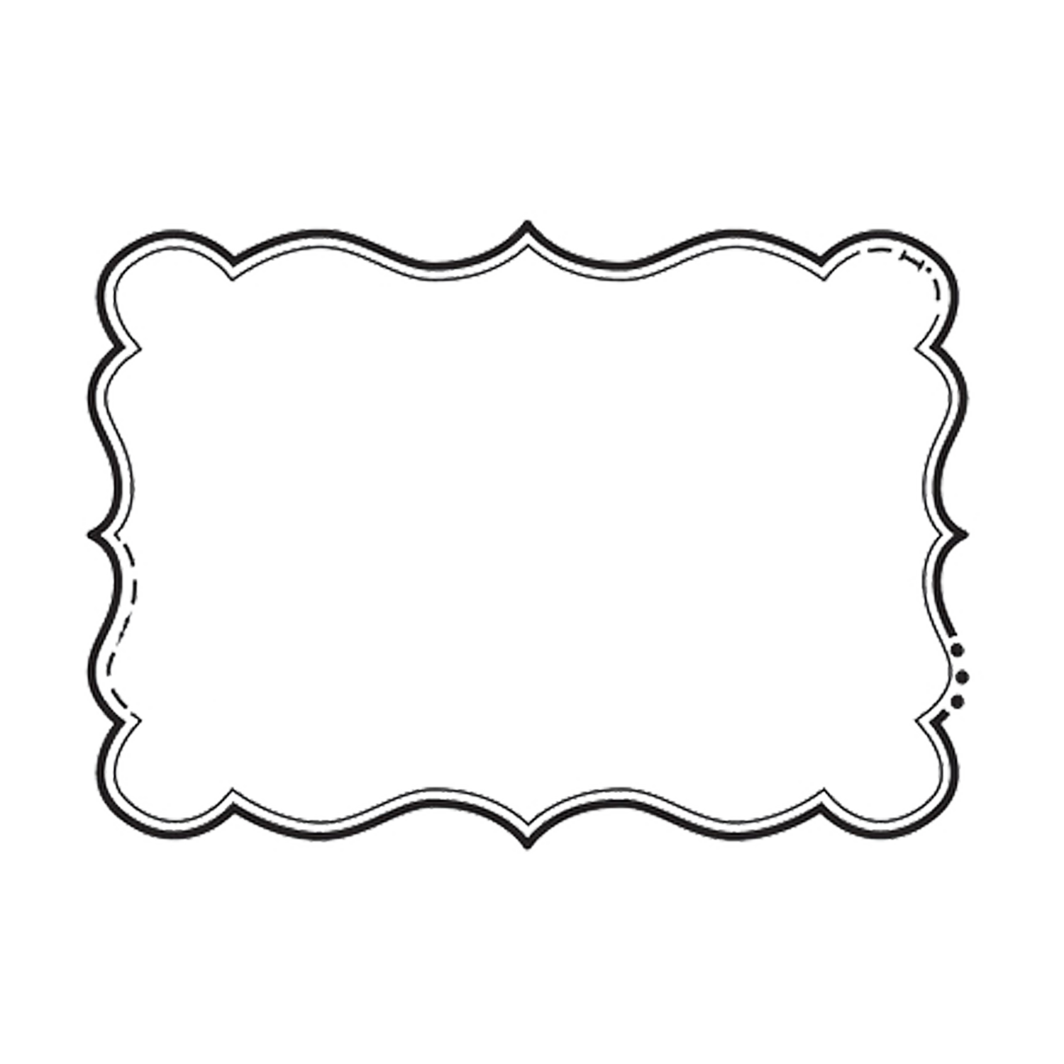 Bracket shape png. A digital scrapbooking embellishment