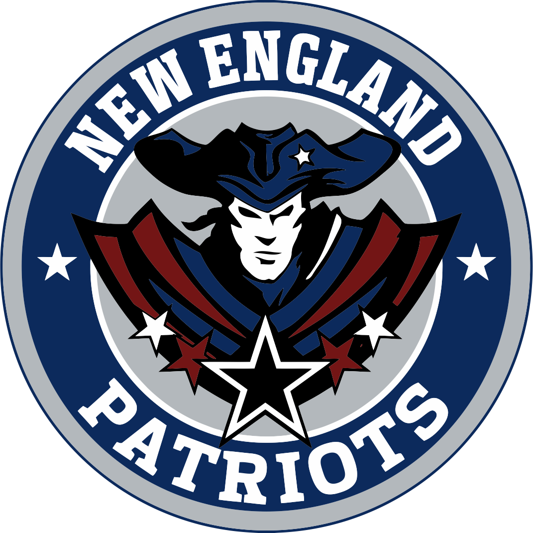 Brady drawing logo patriots. New england vector airbrush