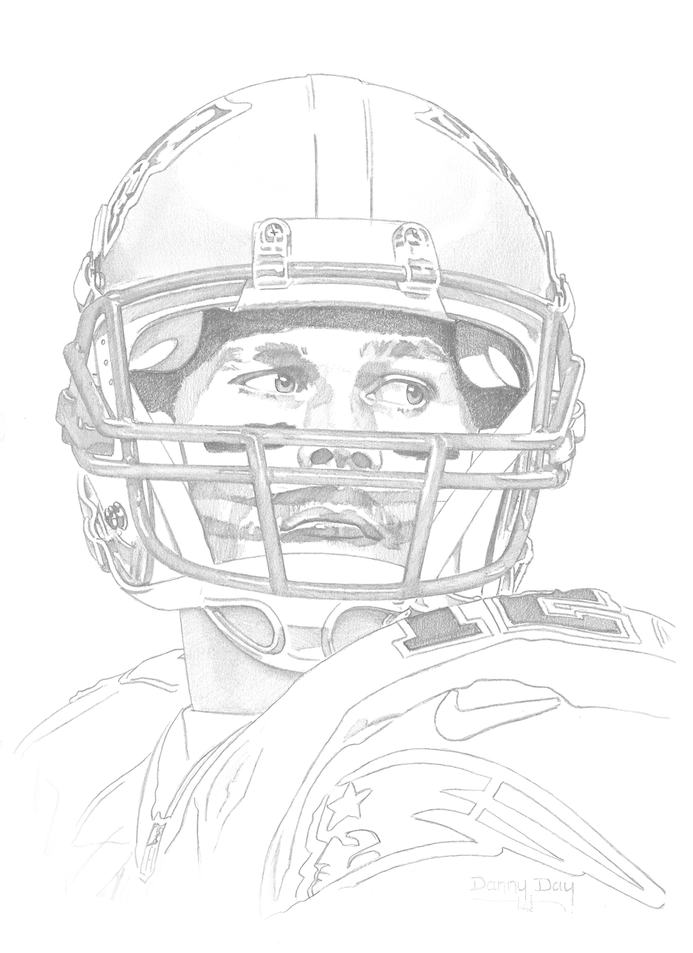 Brady drawing sport. Danny day studio sports