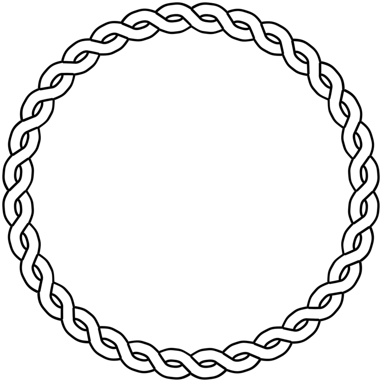 Braids vector braided rope. Braid coloring book computer