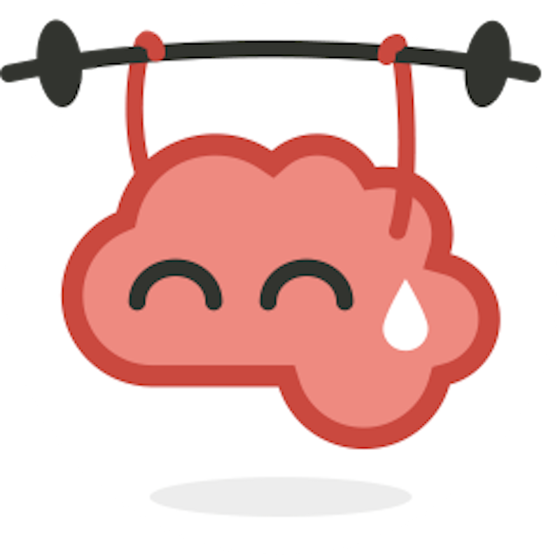 Brain cartoon png. Physical exercise cognitive training