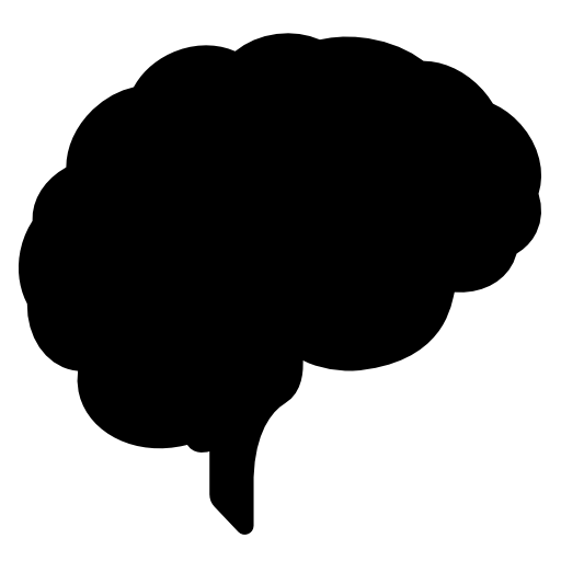 Brain png. Image royalty free stock