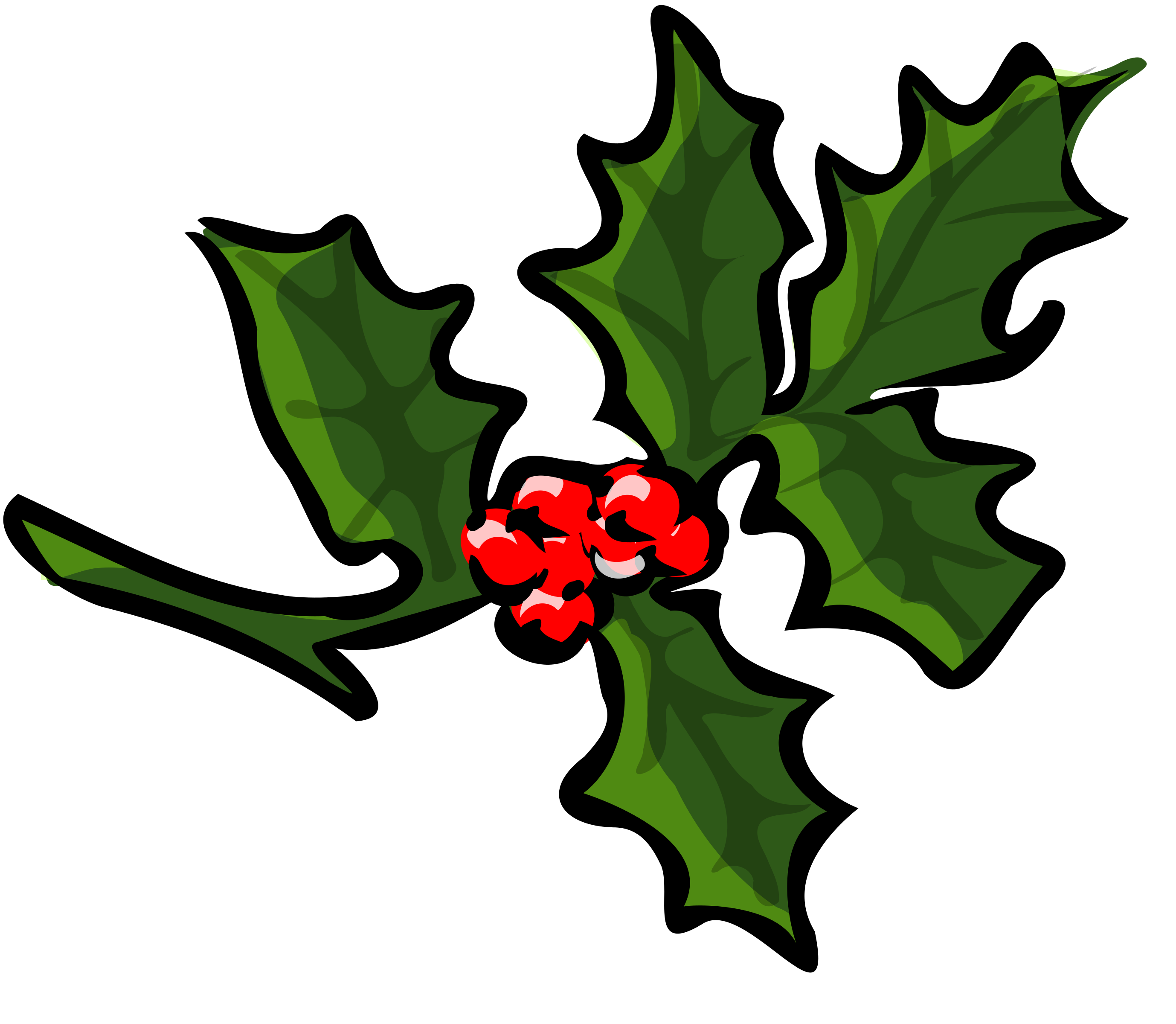 Branch clipart thick. Holly big image png