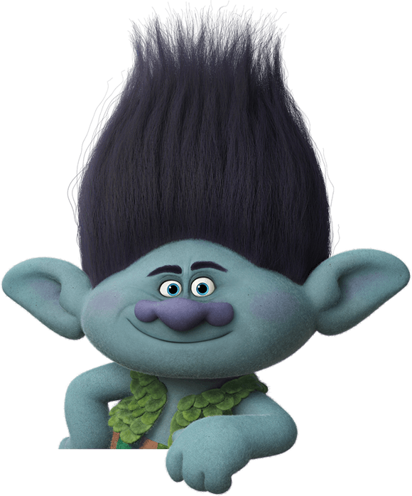 Branch troll png. Trolls movie party ideas