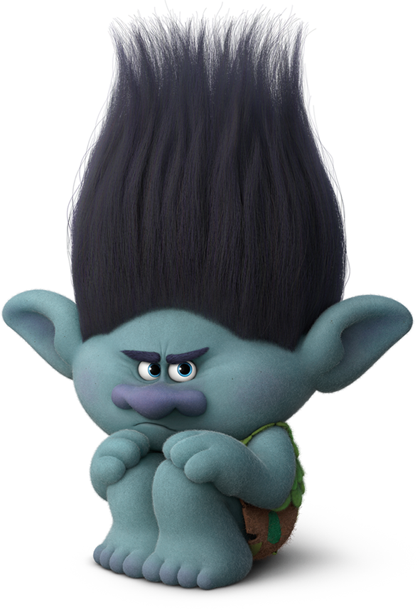 Branch trolls png. Image the parody wiki