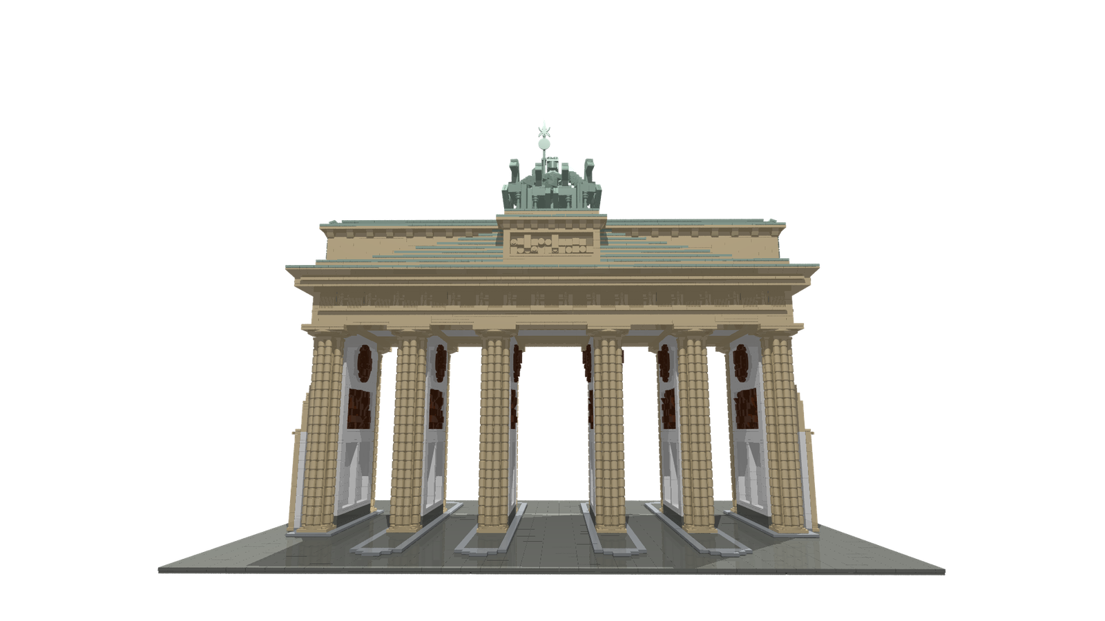 Brandenburg gate png. Lego ideas product