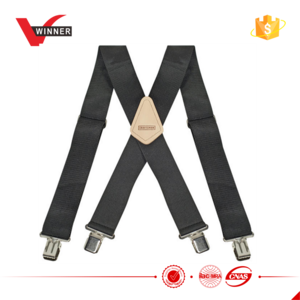 Clip suspenders suspender. China nickle lead free