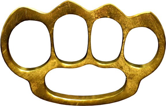 Brass knuckles png. Image high resolution cawiki