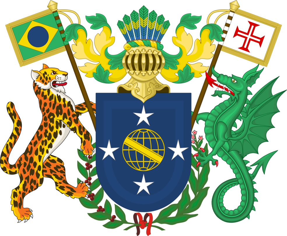 Brazil coat of arms png. By leoninia on deviantart