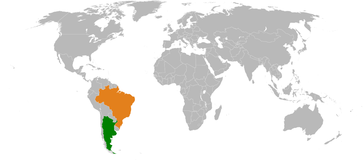 Brazil drawing social statement. Argentina relations wikipedia