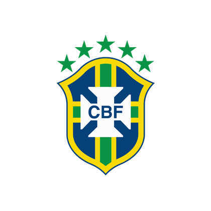Brazil vector. National football team logo