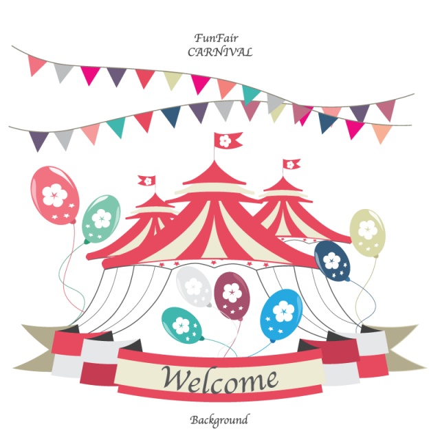 carnival transparent welcome
