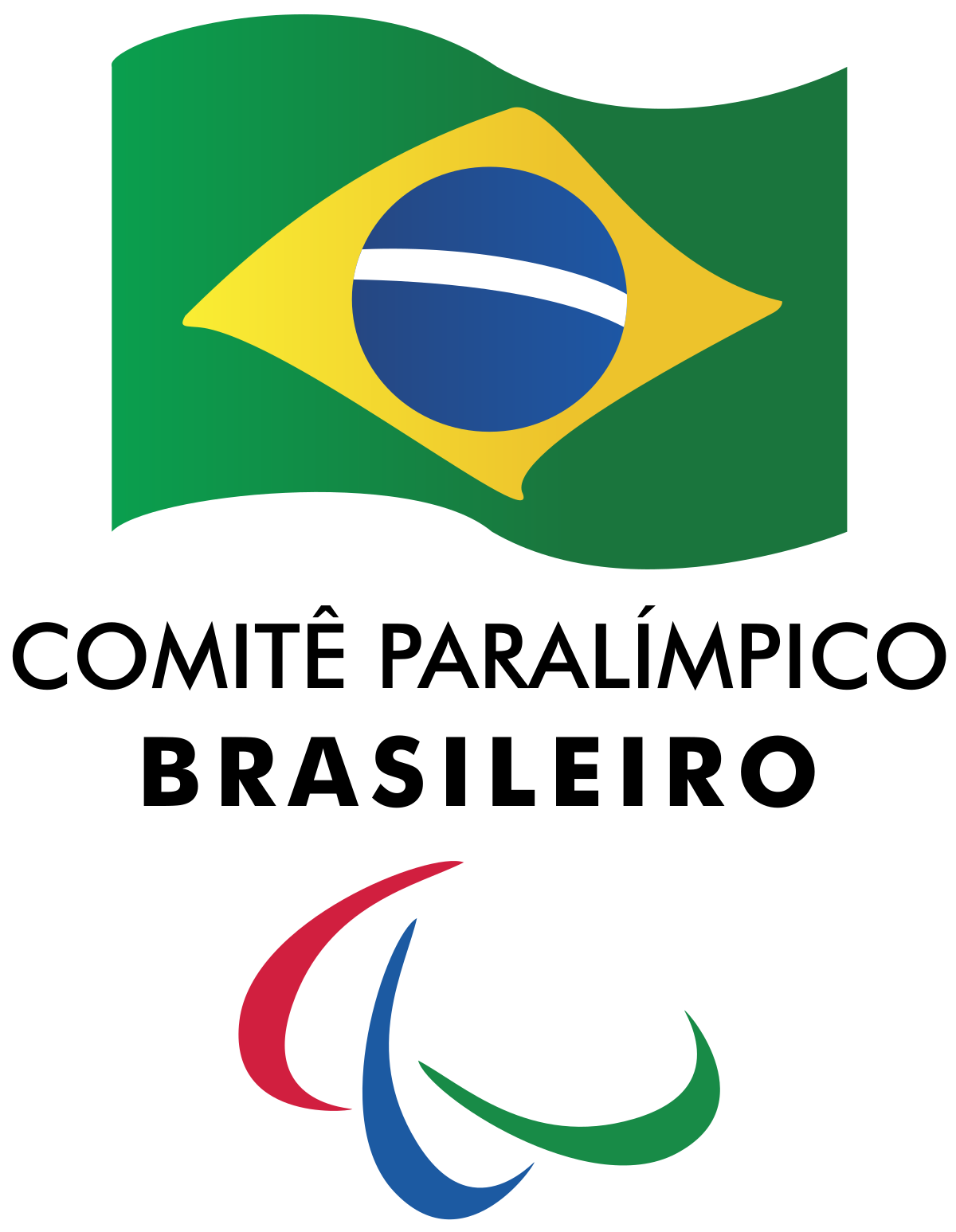 Brazil vector flag brazilian. Paralympic committee wikipedia