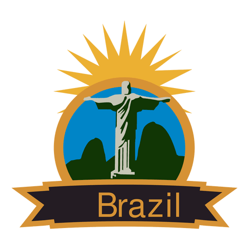 Brazil vector olympic. Label transparent png svg