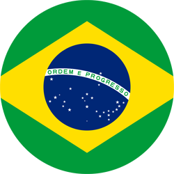 Brazil vector. Flag country flags free