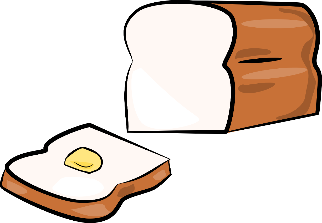 Bread cartoon png. Clipart image clipartix