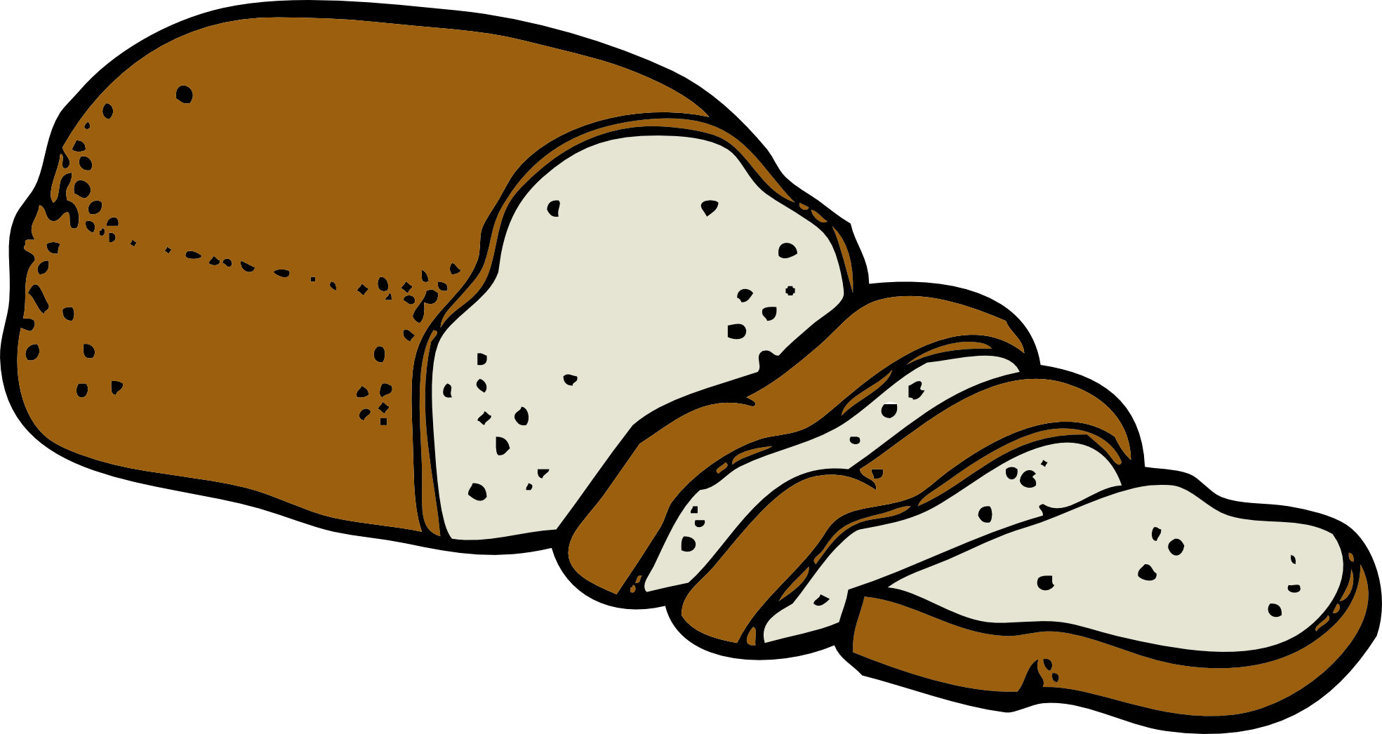 Bread clipart png. Panda free images breadclipart