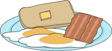 Breakfast clipart. Clip art images bacon