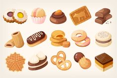 Breakfast clipart dessert. Bakery sweet treat clip