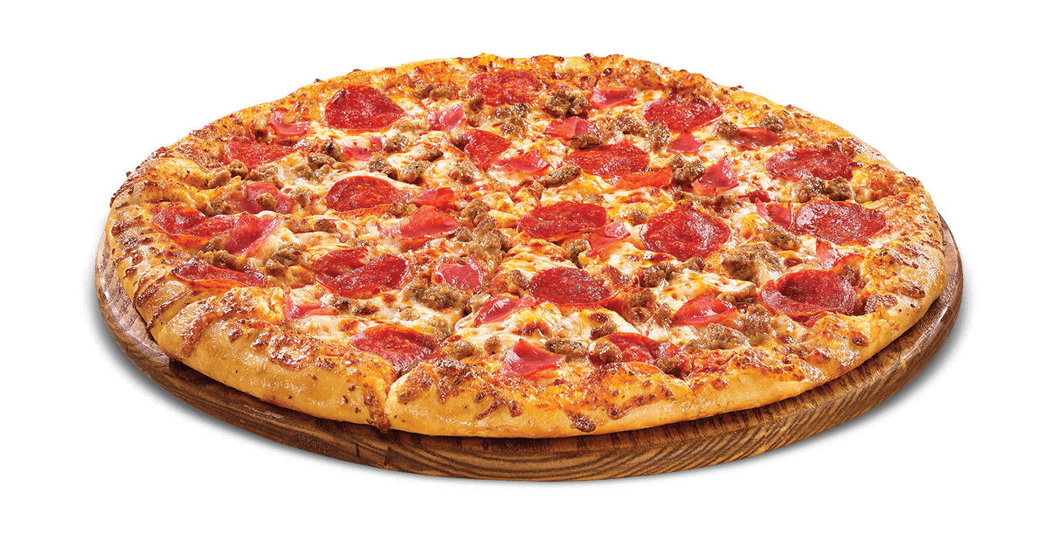 Breakfast pizza png. Meat eater