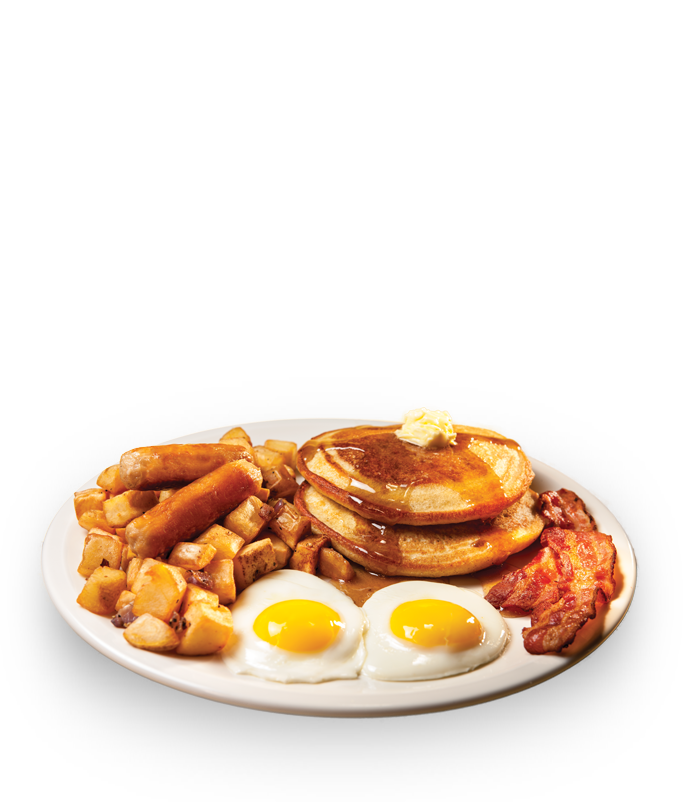 Breakfast transparent all day. Enjoy your morning with