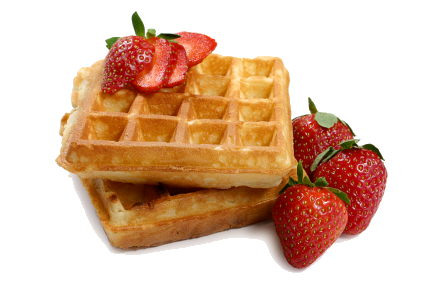 Breakfast transparent belgian waffle. Waffles png images pluspng