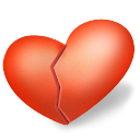 Breaking heart png. Free icons vector files