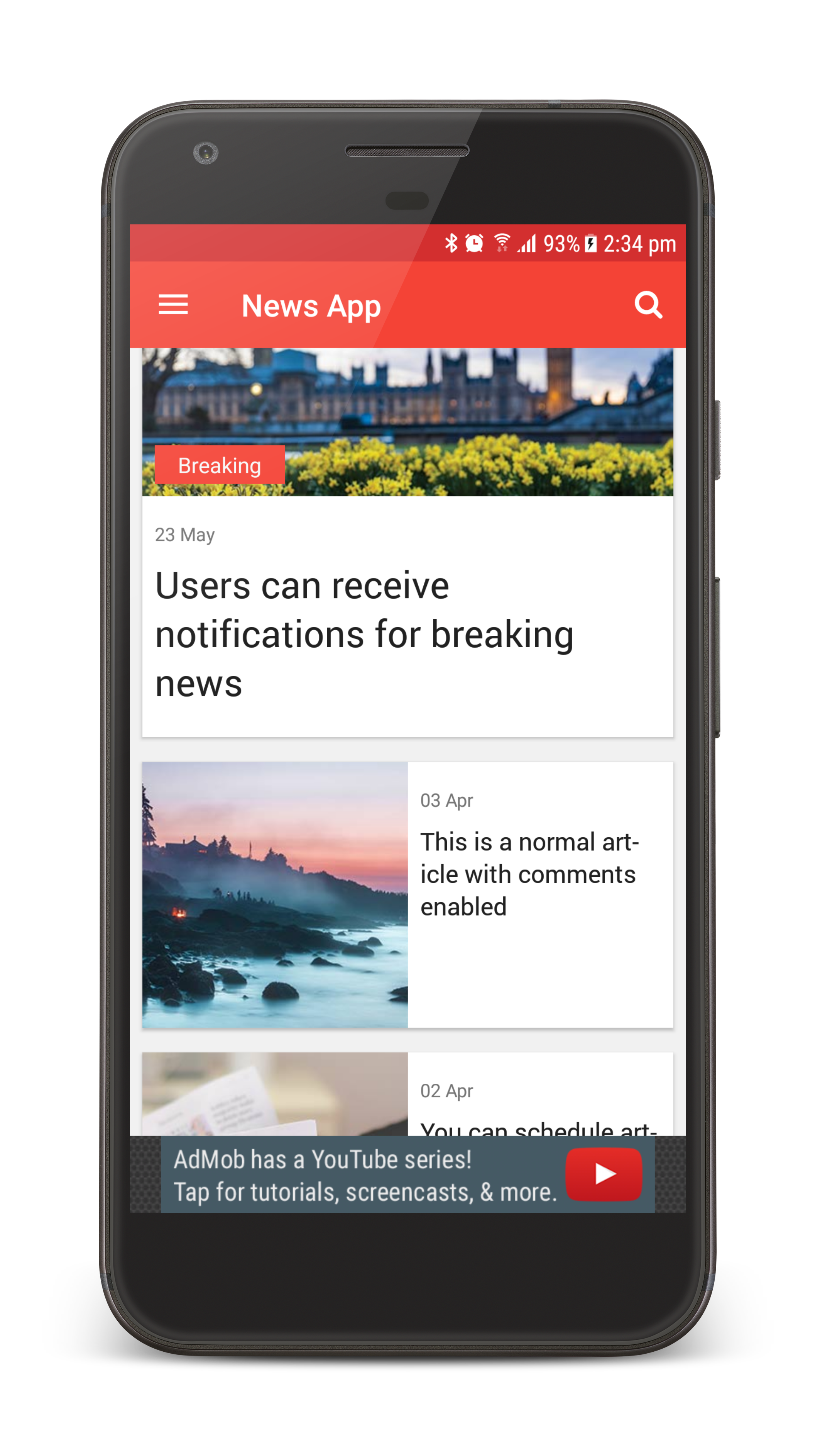 Breaking news template png. The ultimate app by
