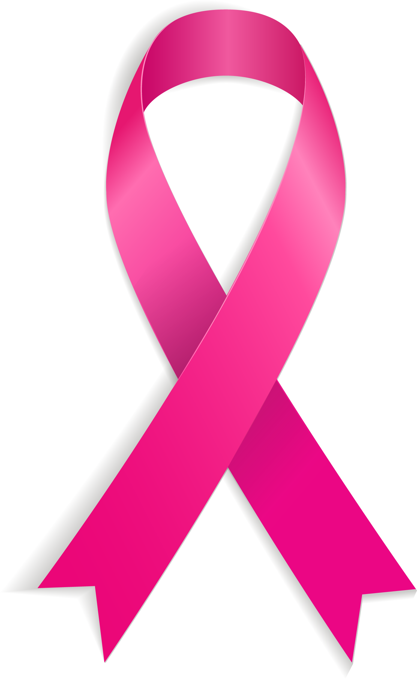 Transparent ribbons vector. World aids day red