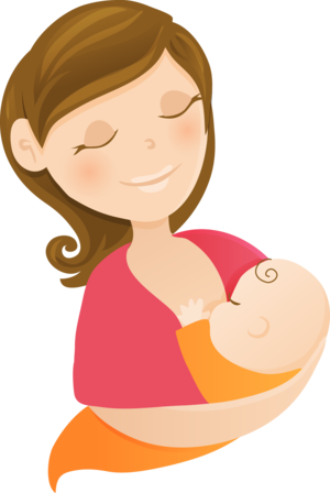 Breast clipart mother breastfeeding baby. Weekly group with lou