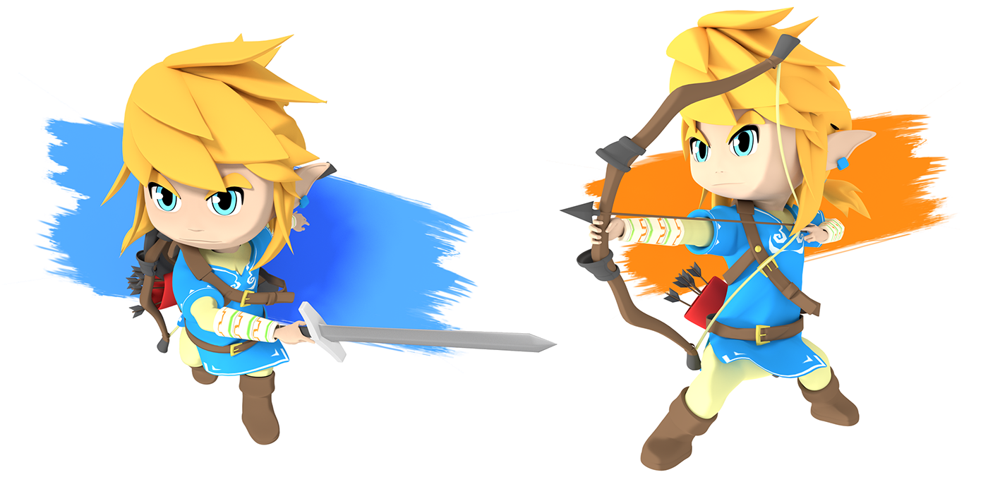 Breath Of The Wild Link Png Picture 738252 Breath Of The